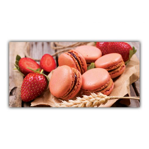 Macarons Fraises