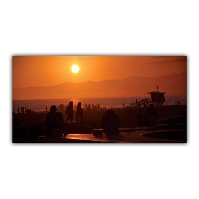 Skateur Venice Beach Los Angeles