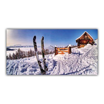 Chalet Ski Montagne Neige