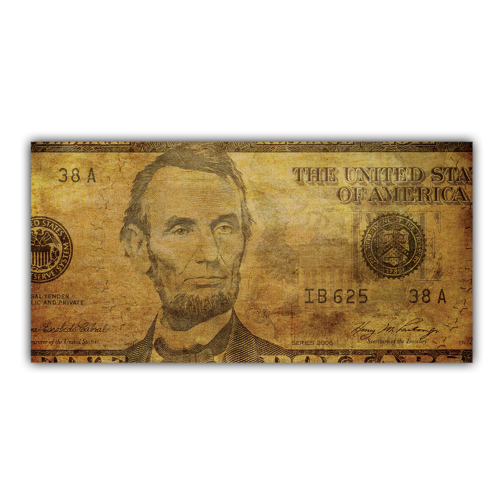 Billet Dollar Abraham Lincoln