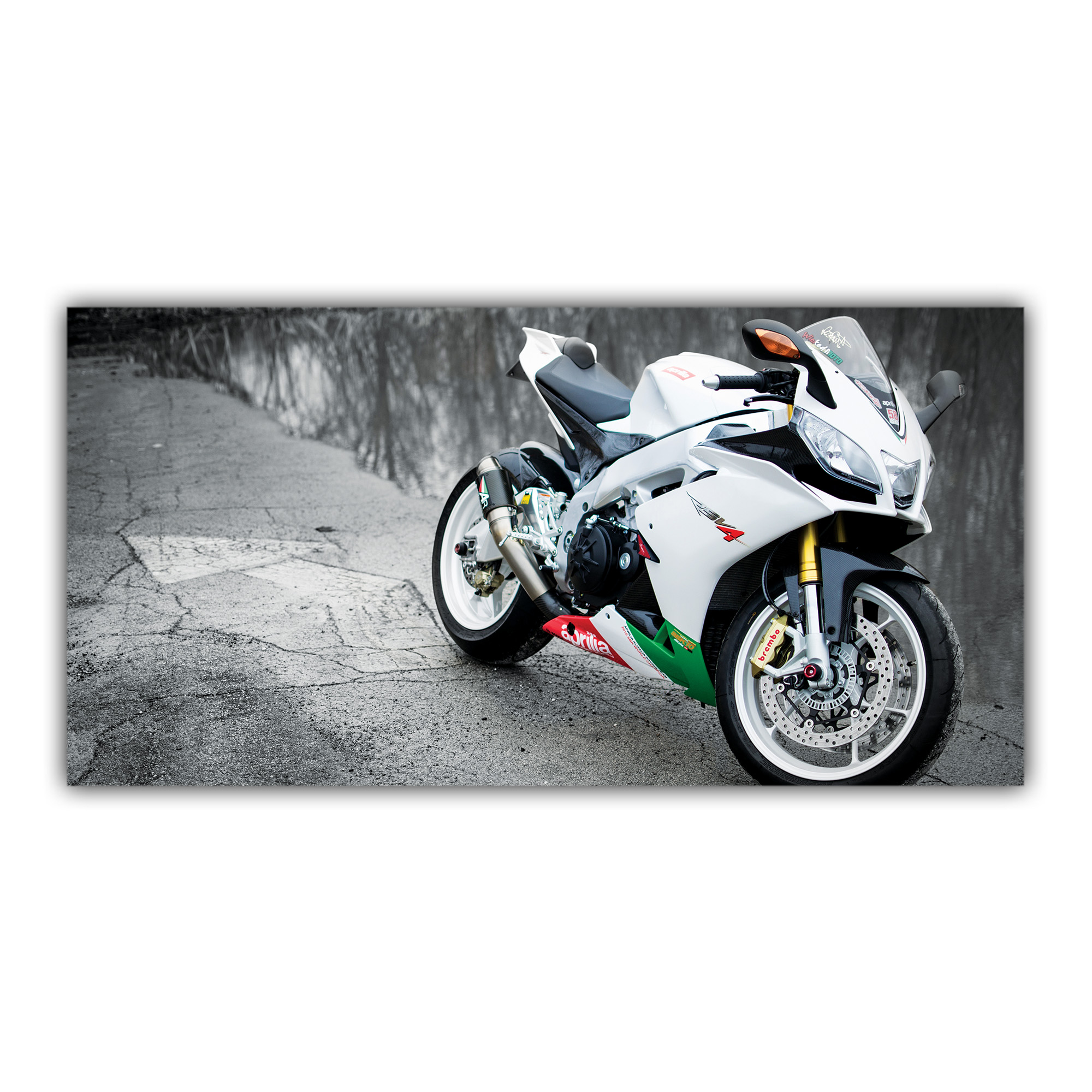 Aprilia Sportive RSV4 Blanche