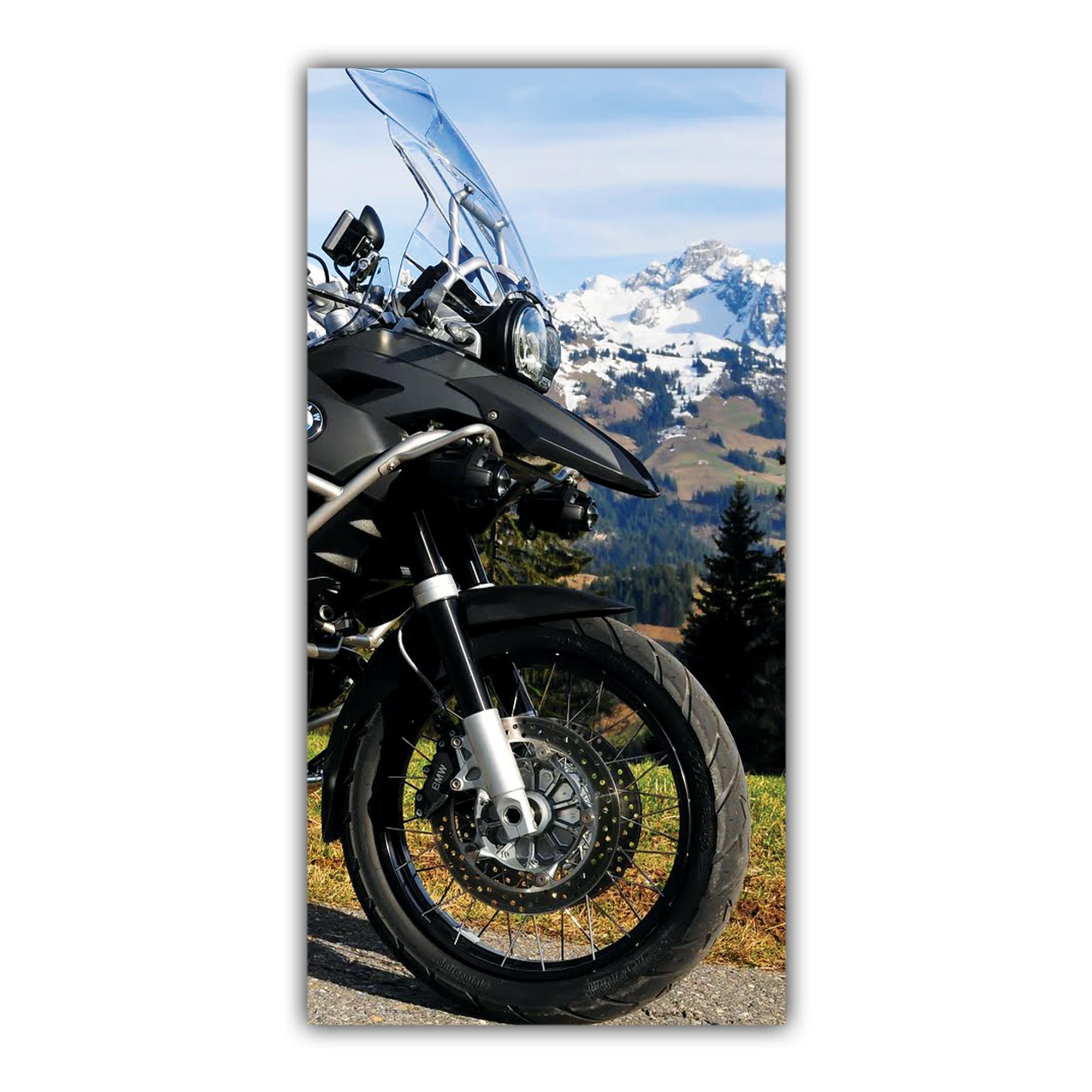 BMW 1200 GS Trail Paysage Montagne Neige