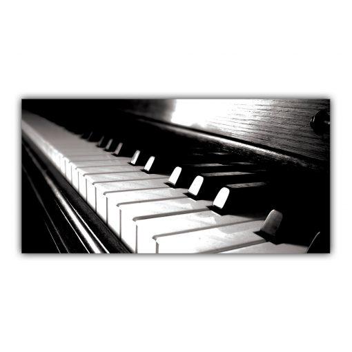 Touches Piano Noir et Blanc