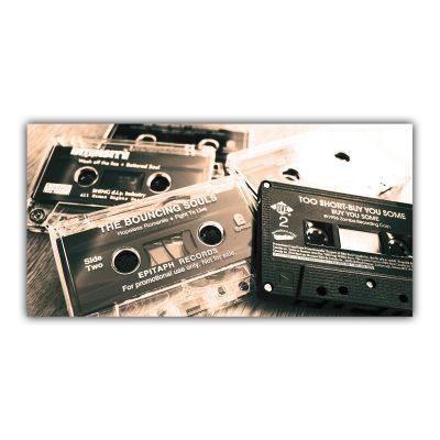Cassettes Radio Musique Rétro