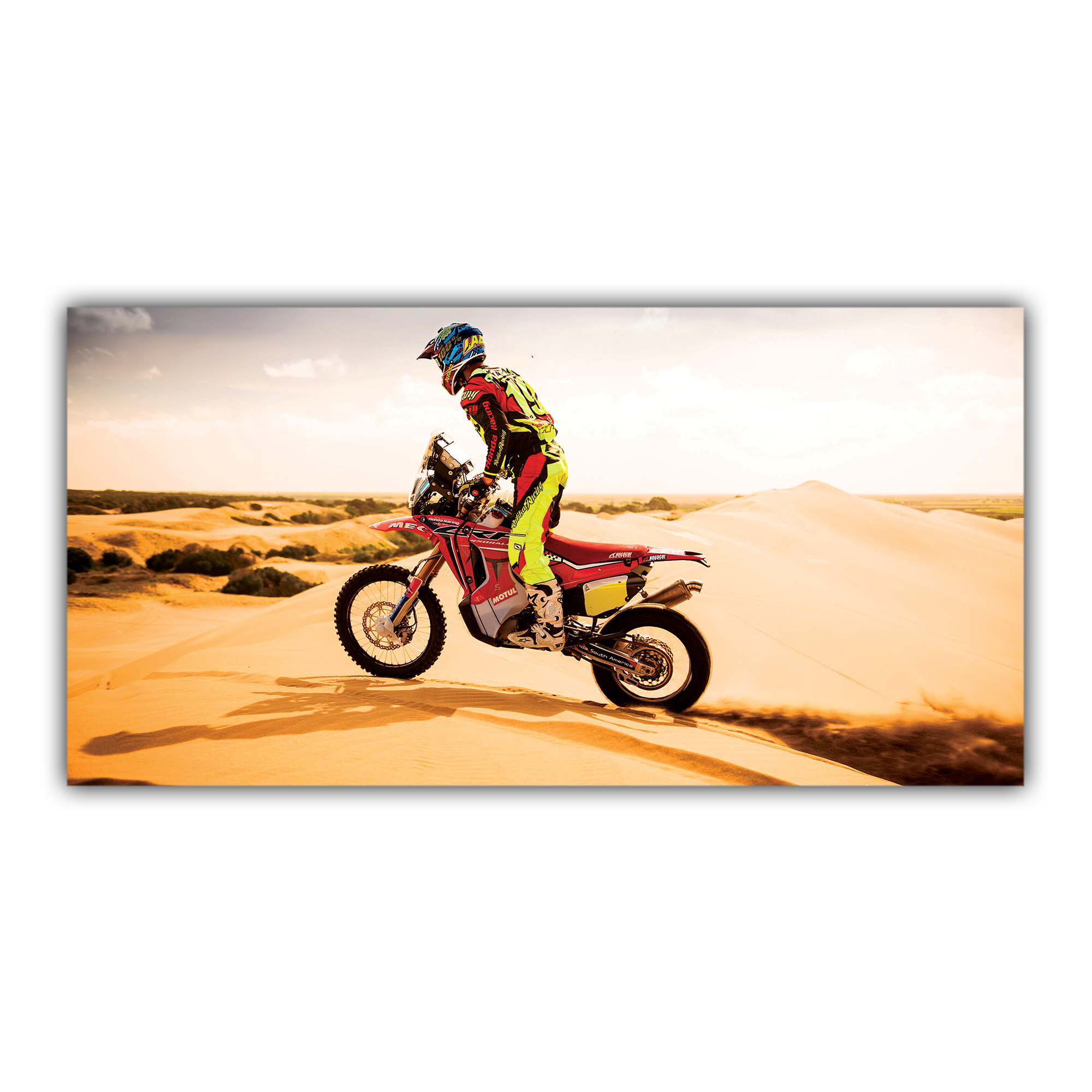 Moto Honda Dakar Enduro Désert
