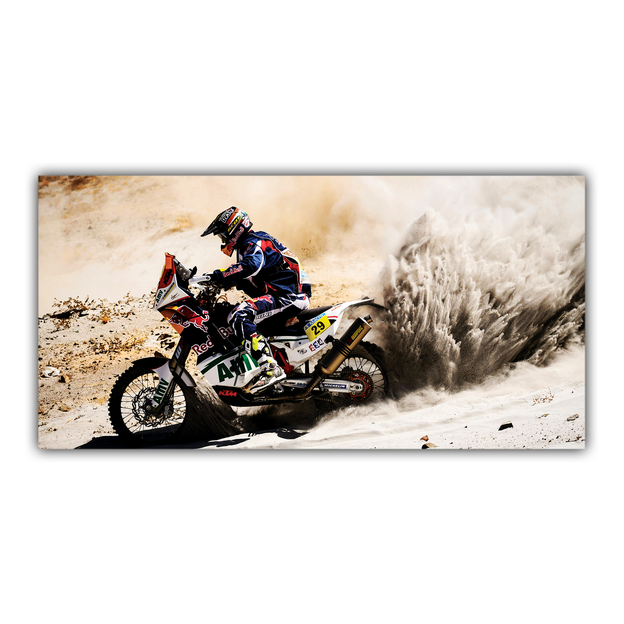 Moto KTM Redbull Dakar Enduro