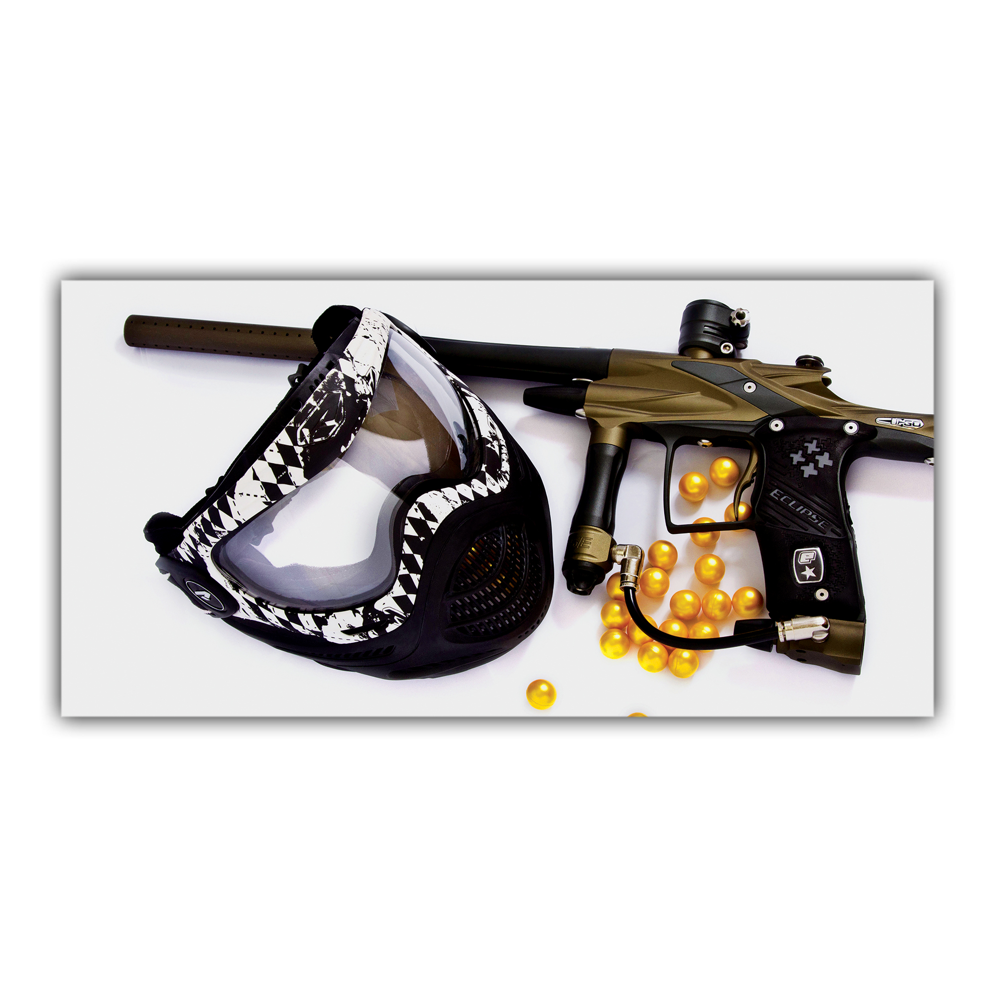 Paintball Masque pistolet billes