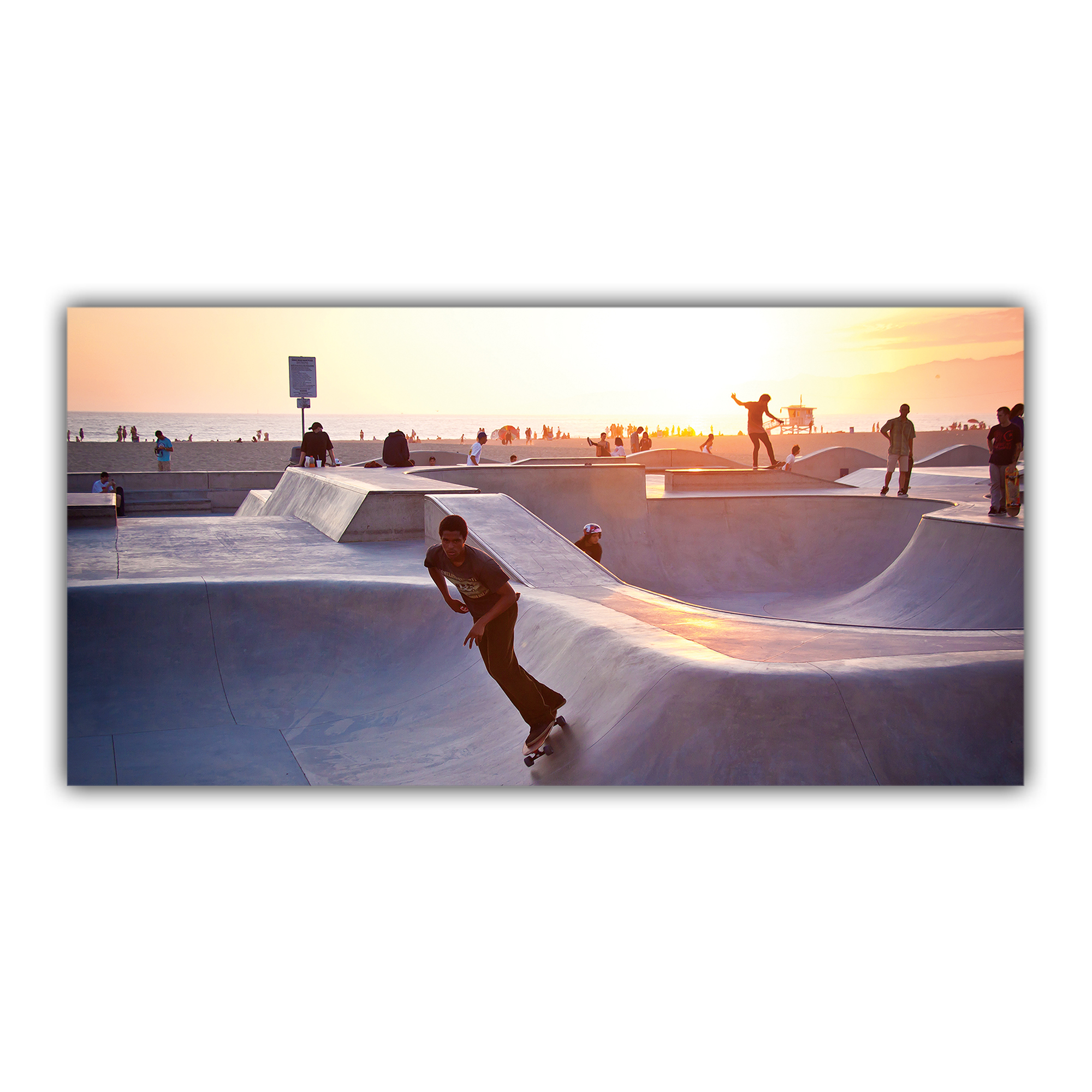 Skate Parc Venice Beach Los Angeles Californie USA