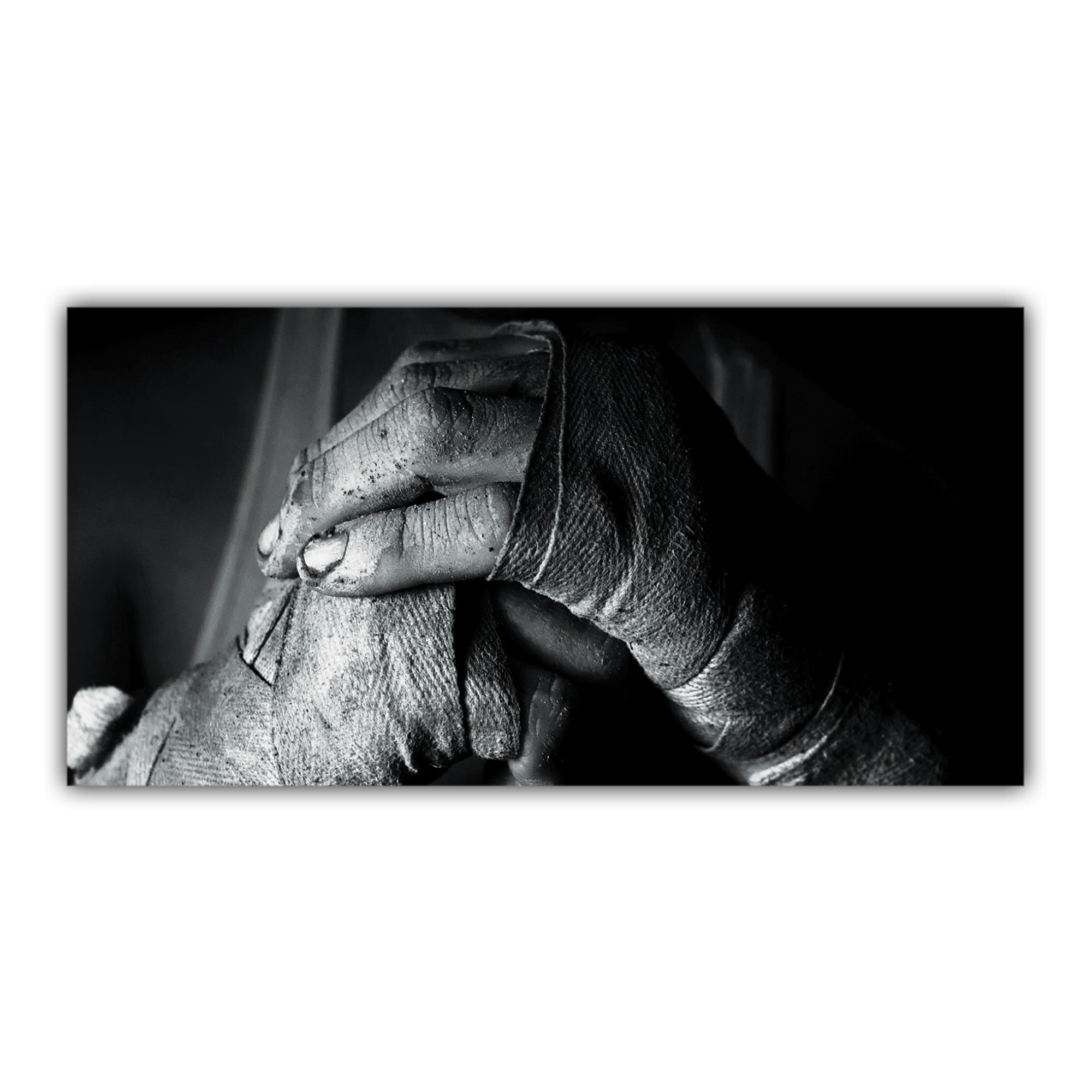 mains boxeur noir et blanc plaque pour la d coration de votre int rieur. Black Bedroom Furniture Sets. Home Design Ideas