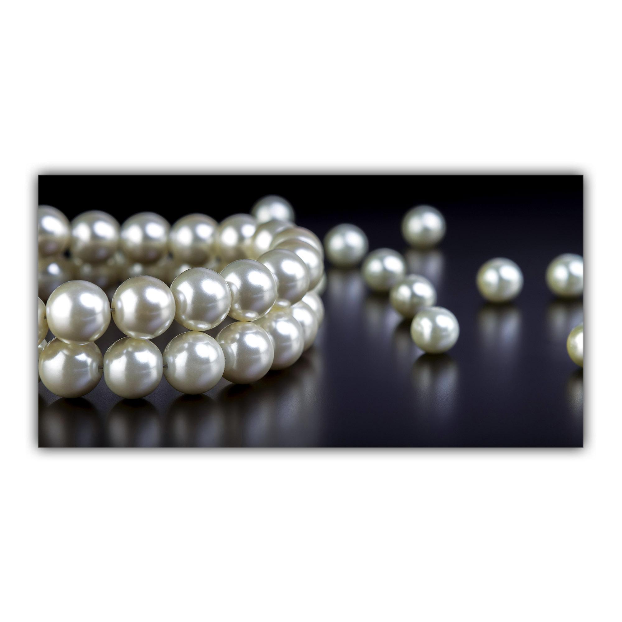 Collier Perles Brillant Bijoux Luxe