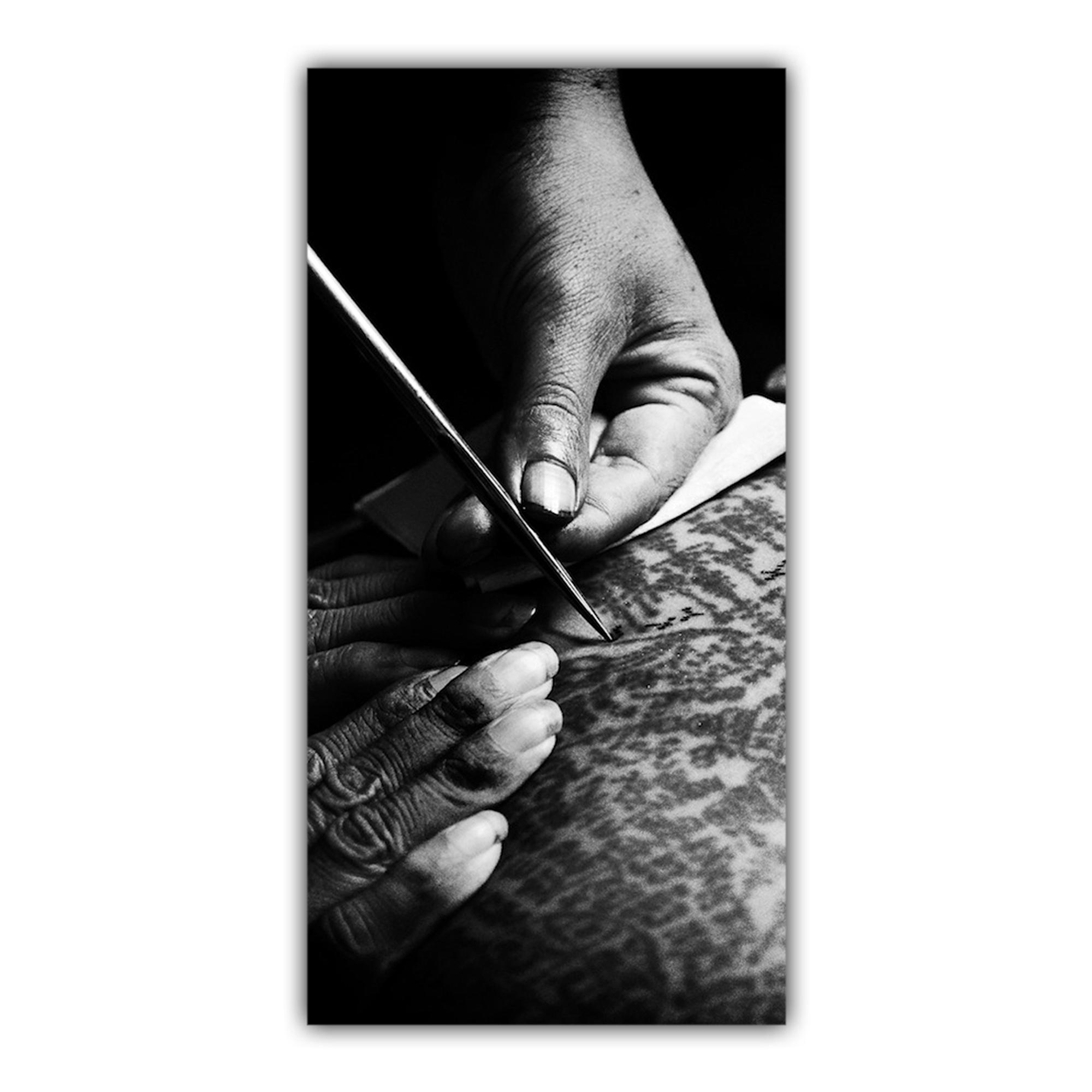 Baguette Bambou Encre Tatouage