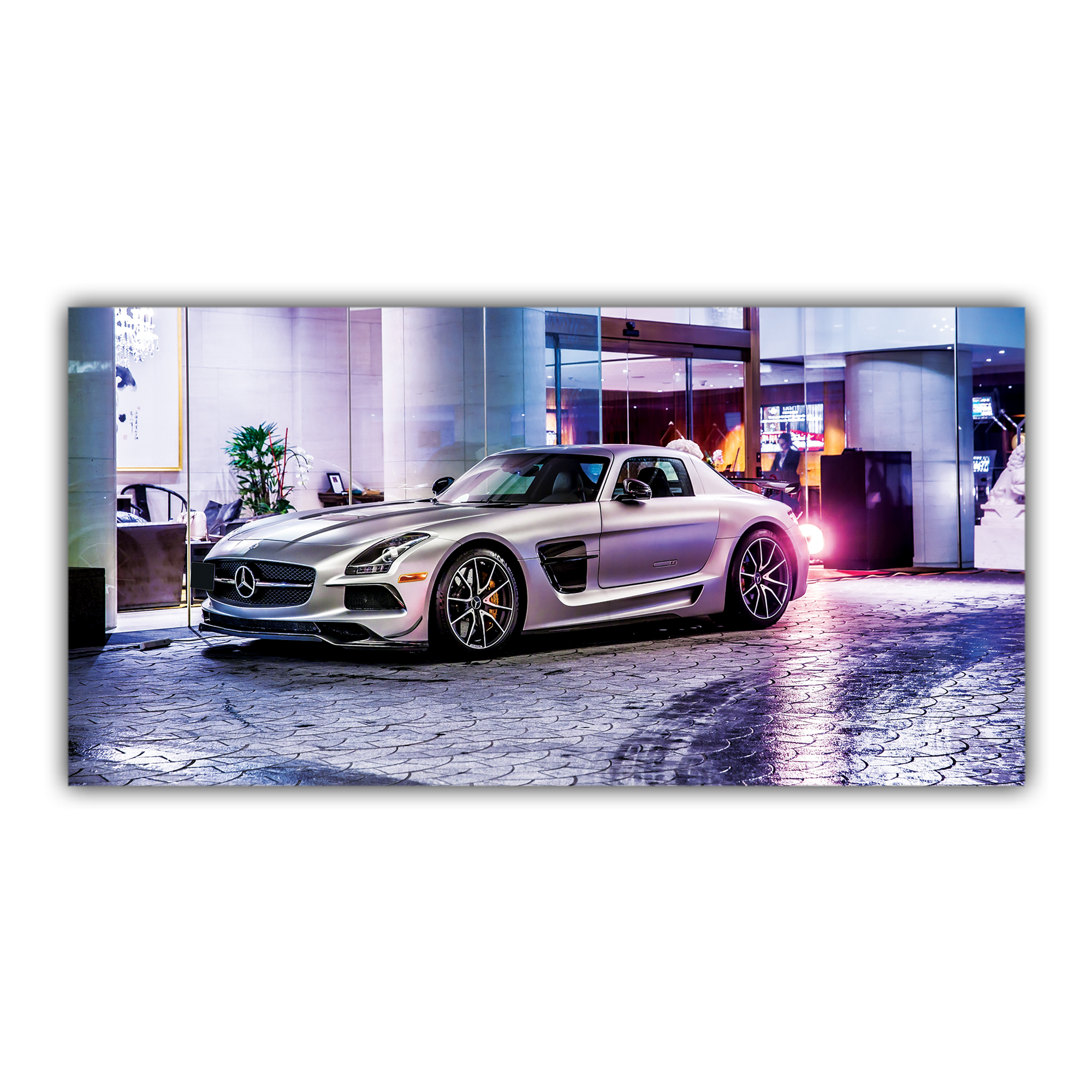 Mercedes Benz AMG C197 Silvery