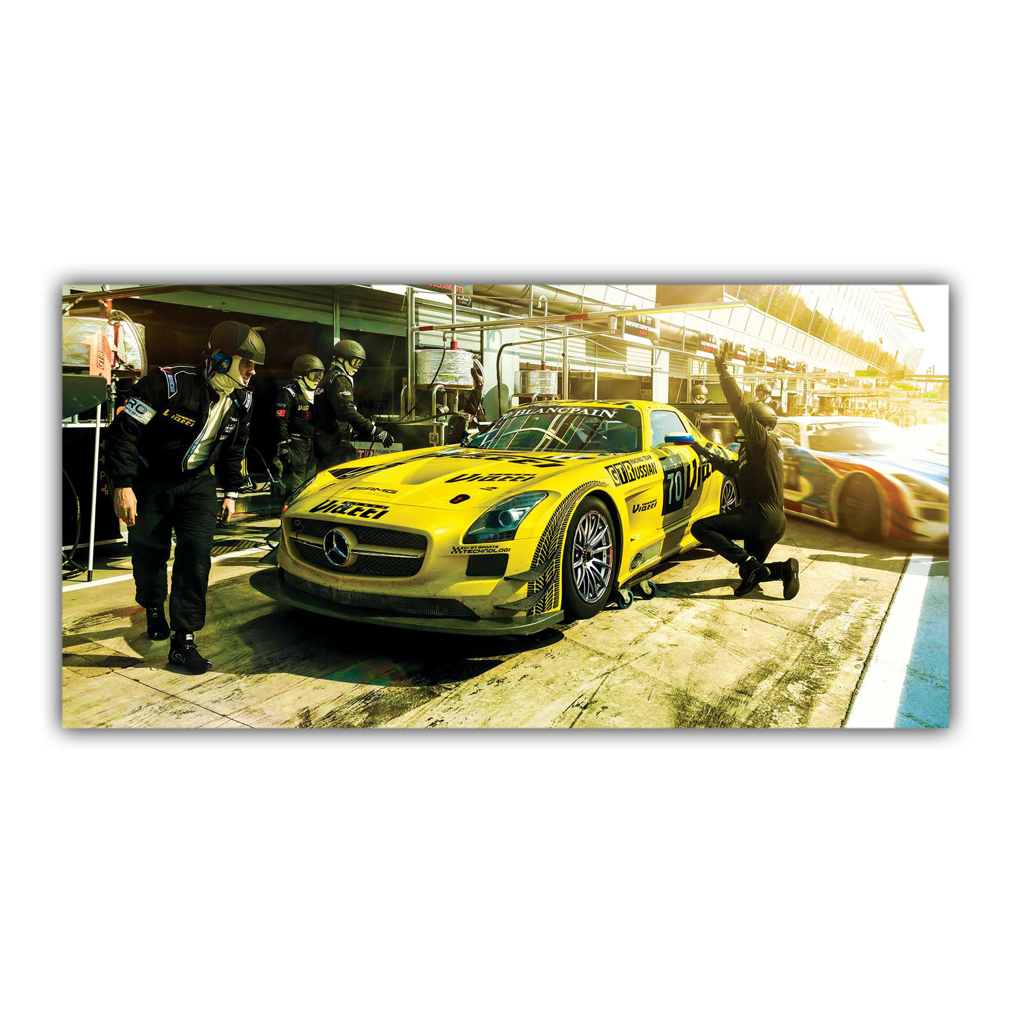 Mercedes Benz AMG GT3 SLS Russe
