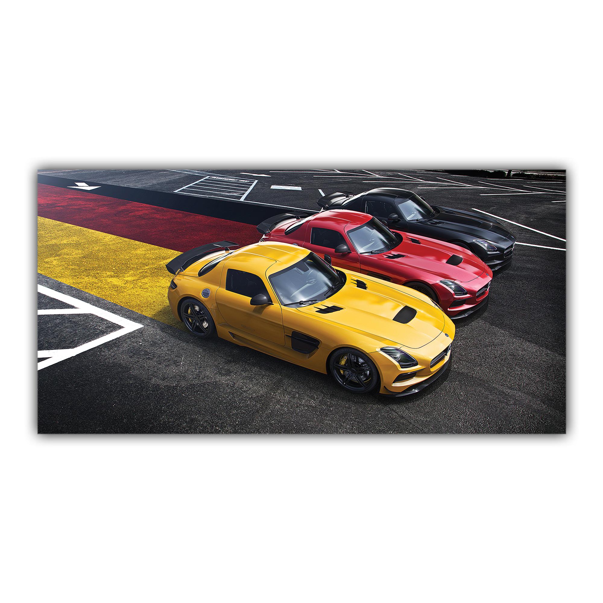 Mercedes Benz AMG Drapeau Allemand