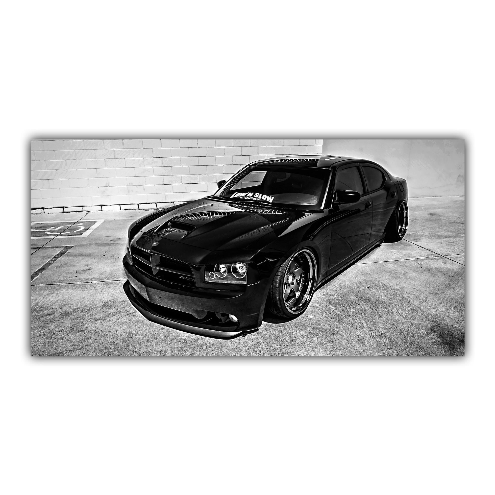 Charger Dodge Noir Voiture Américaine
