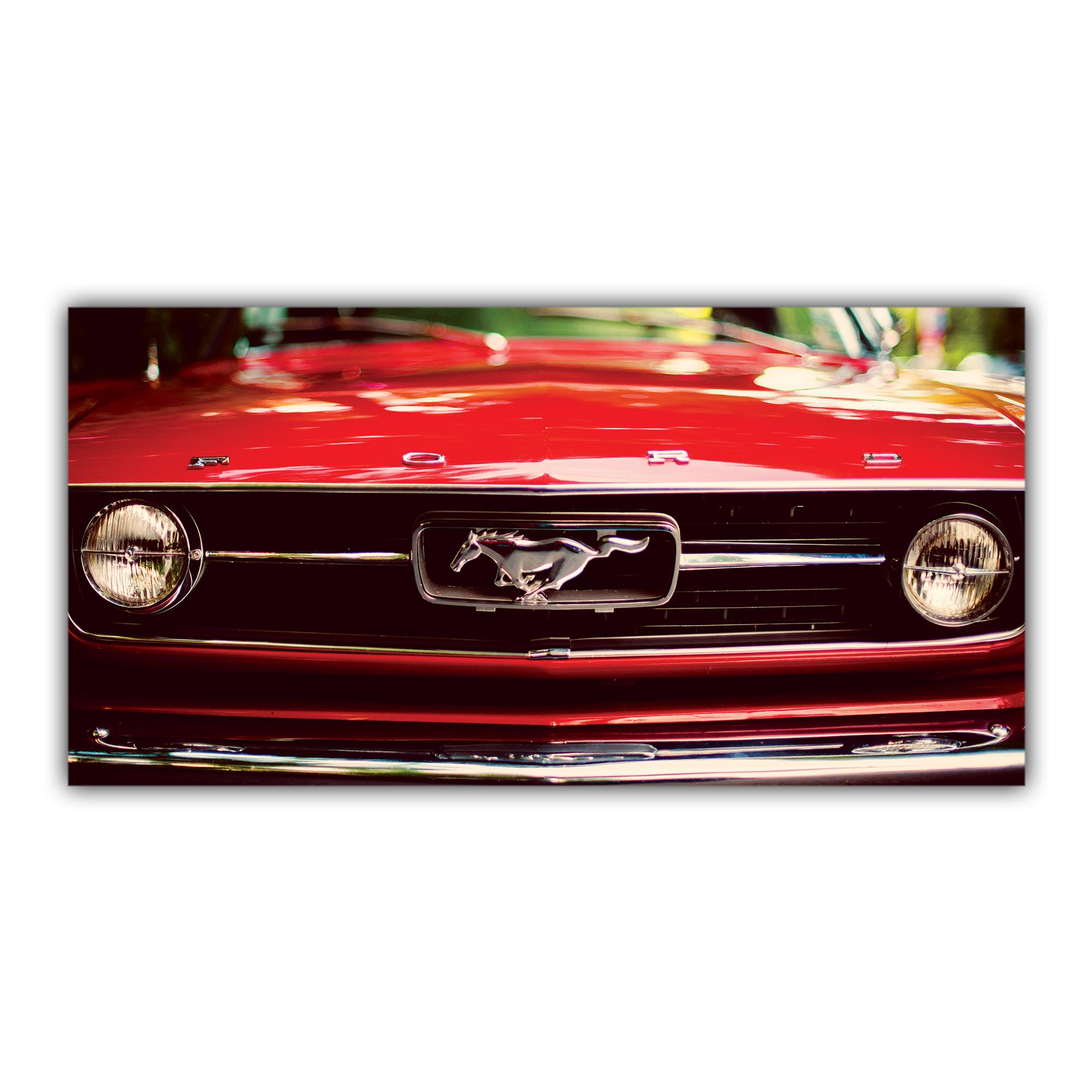 Mustang 1970 Ford Classique Voiture Américaine Calandre