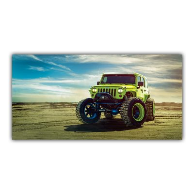 Jeep 4x4 Voiture Verte