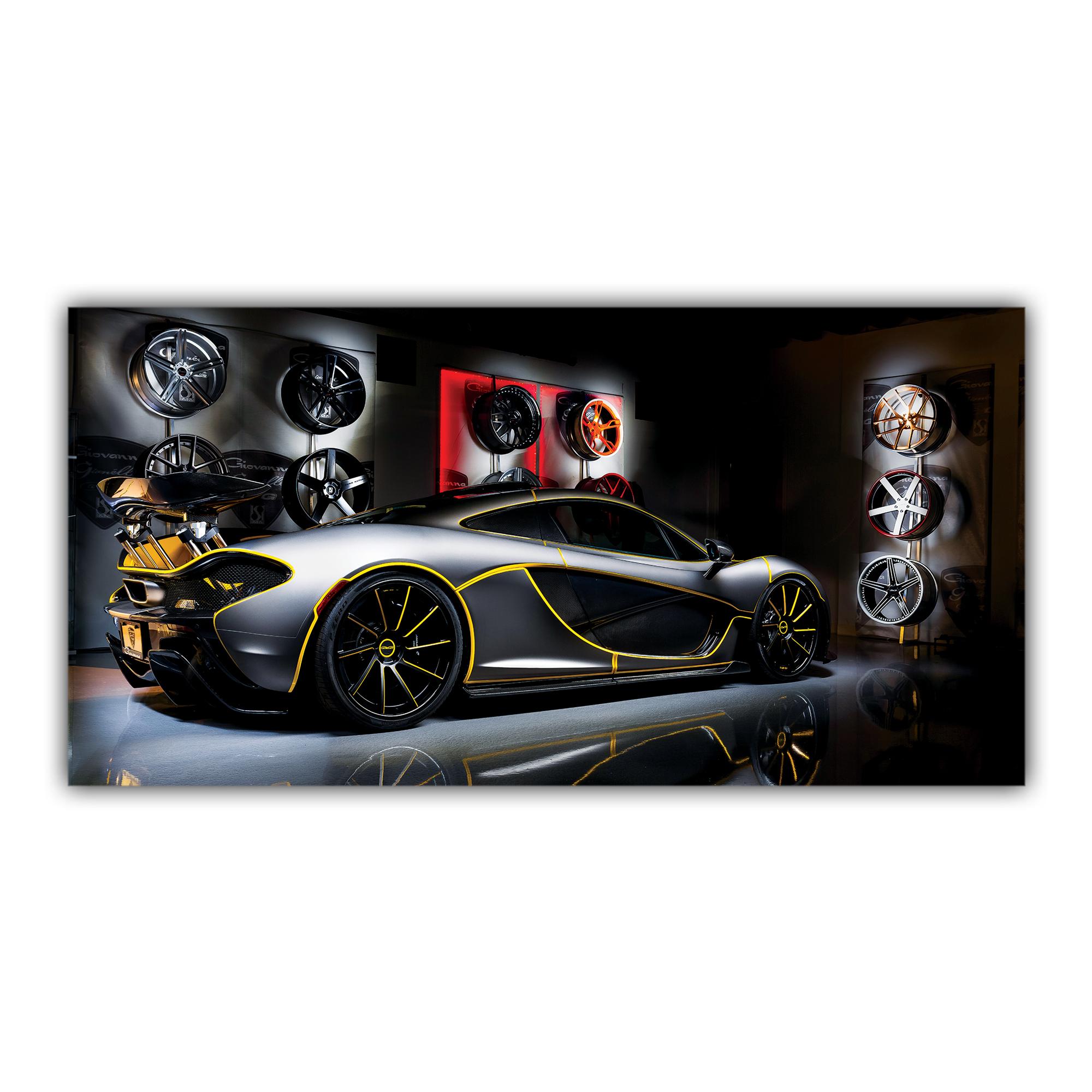 McLaren P1 Hypercar Voiture Sport Jantes