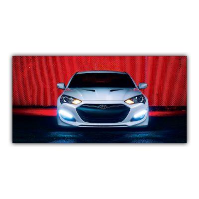 Hyundai Genesis Vossen Voiture Grise