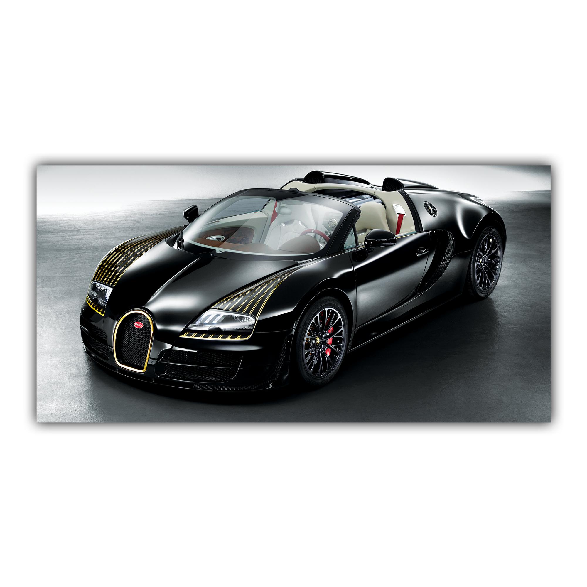 Bugatti Veyron Sport Voiture Noire