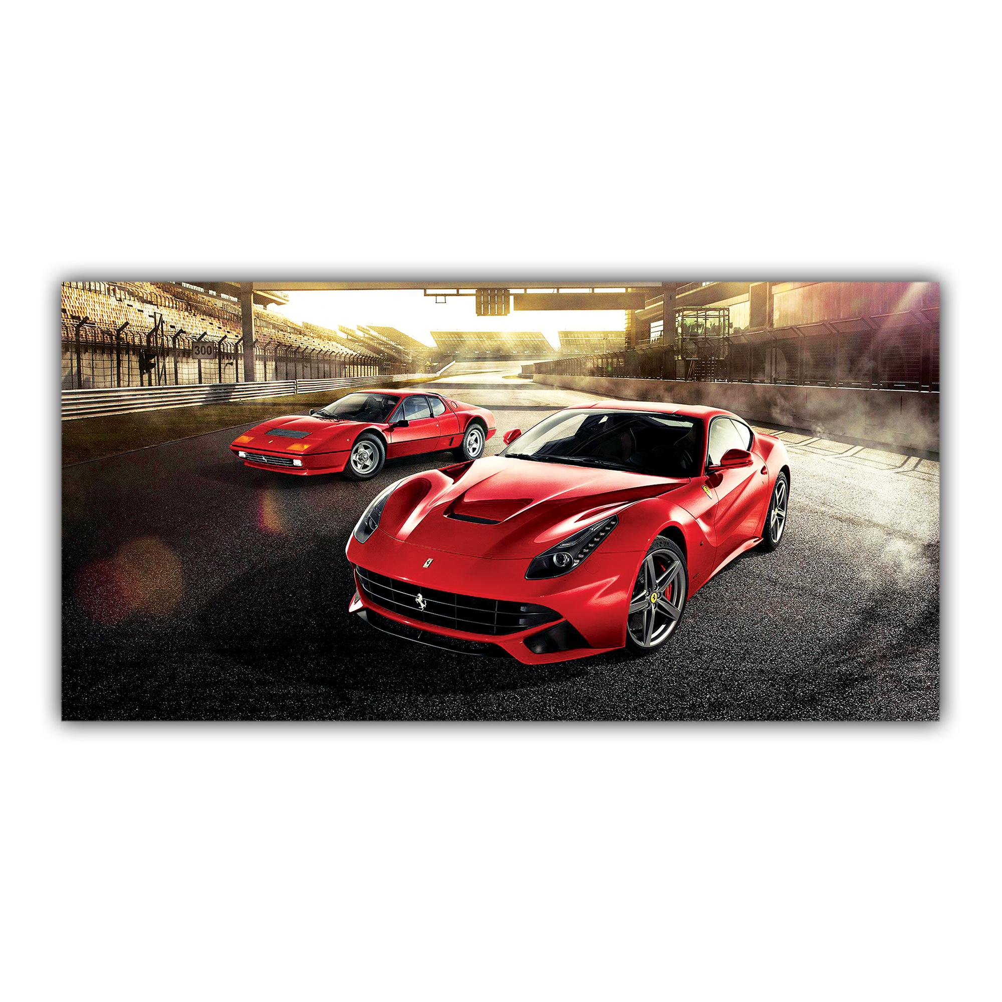 Deux Ferrari F12 Berlinetta Sport Italienne Rouge