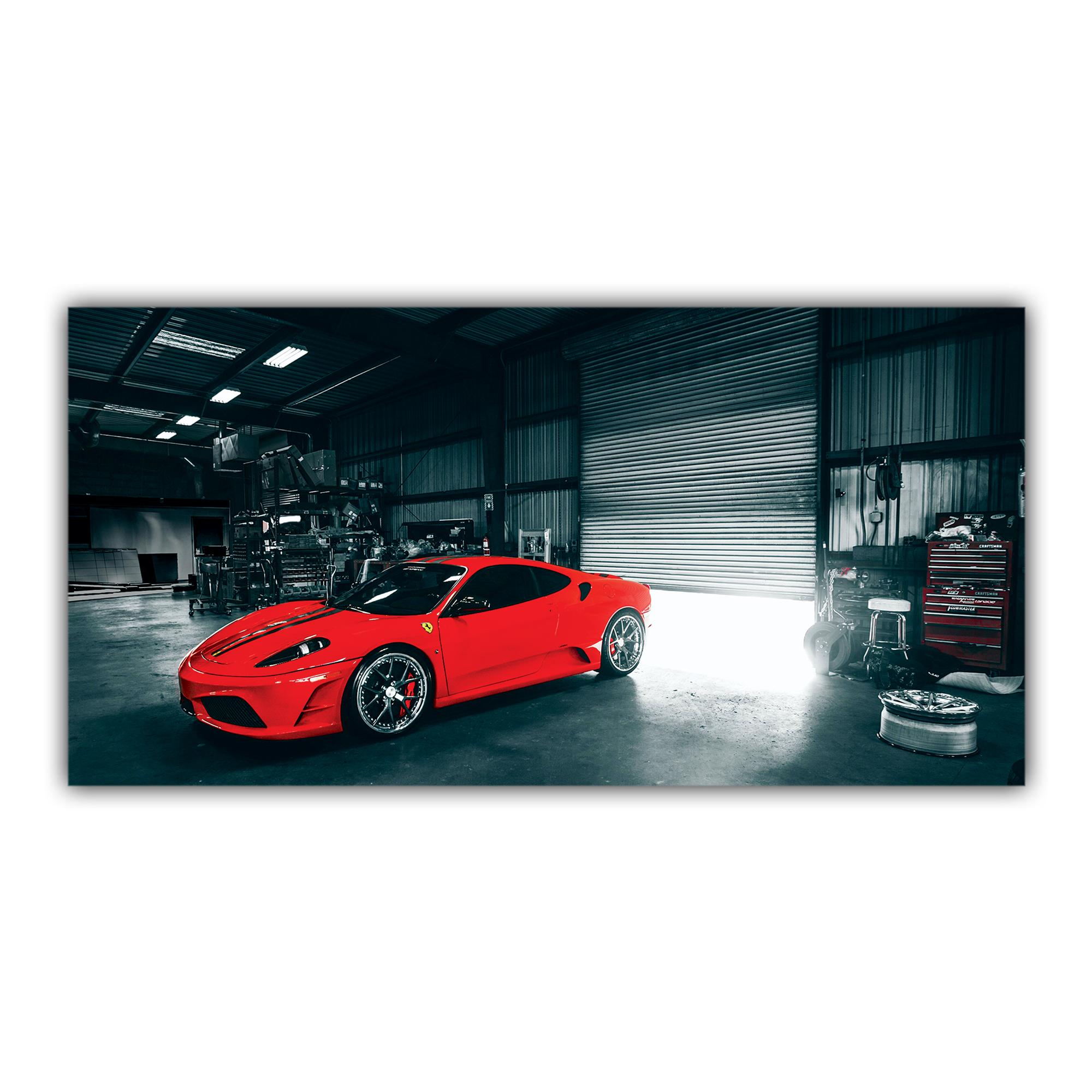 Ferrari F430 Scuderia Sport Italienne Rouge Voiture