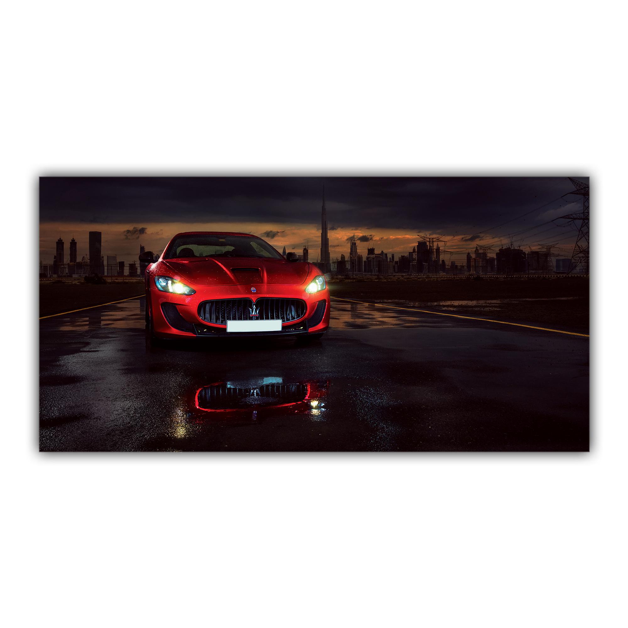 Maserati GranTurismo Sport rouge v8