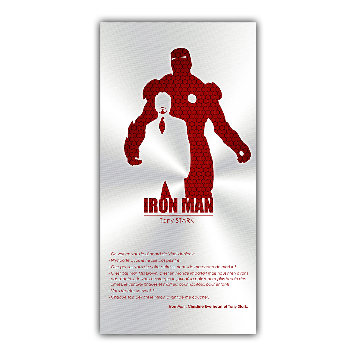 IRON MAN Tony Stark Marvel Comics