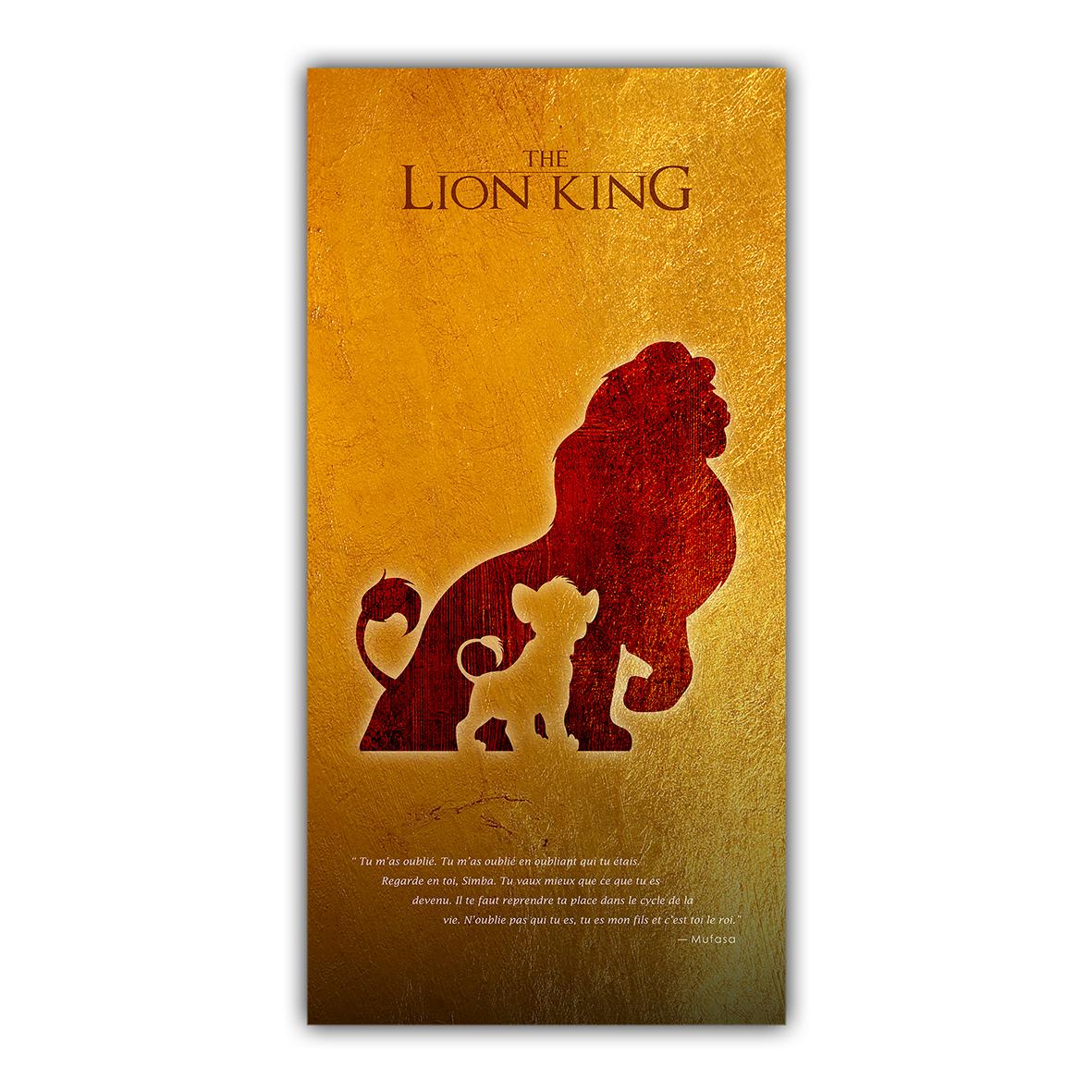 Le Roi Lion Simba Mufasa