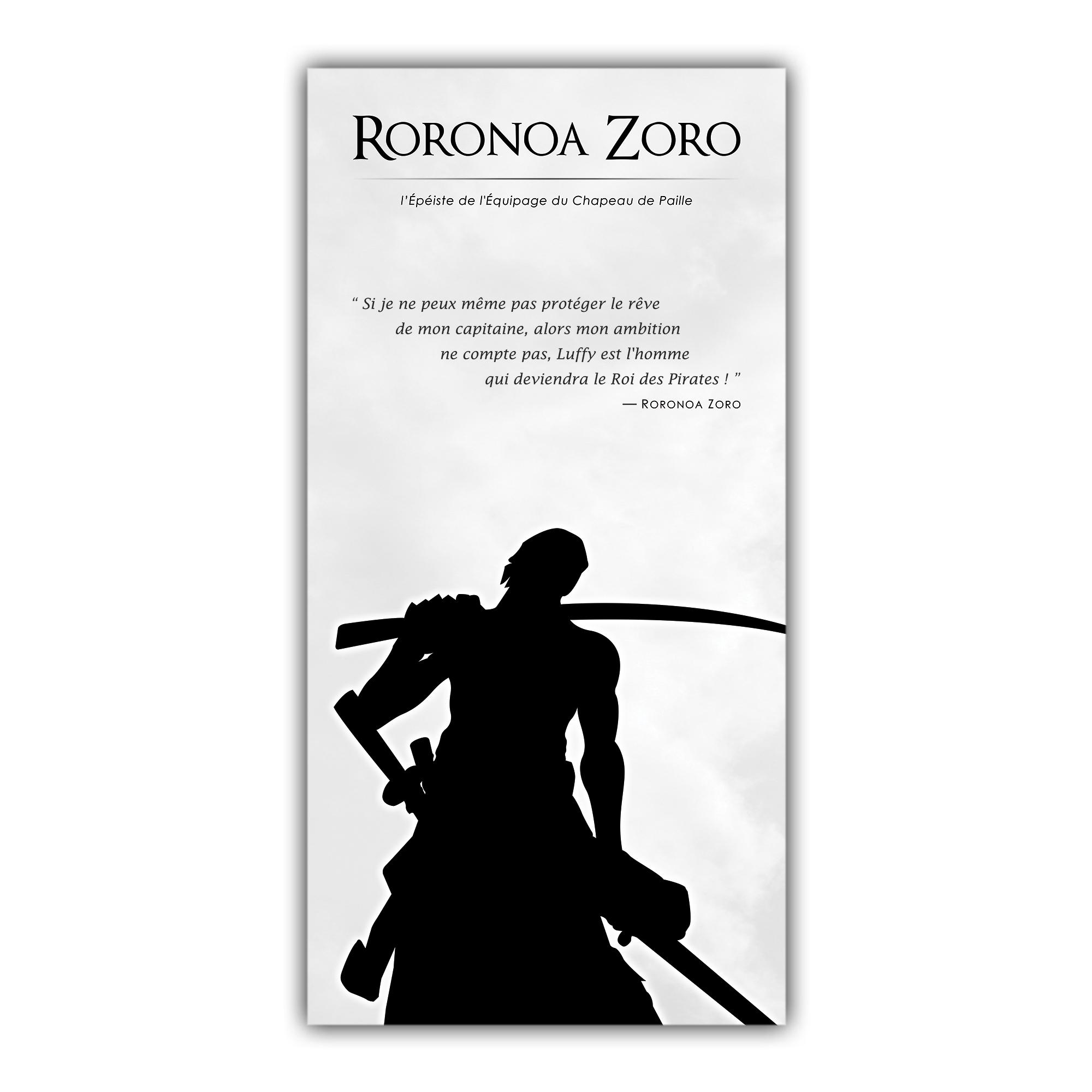 One Piece Roronoa Zoro Manga