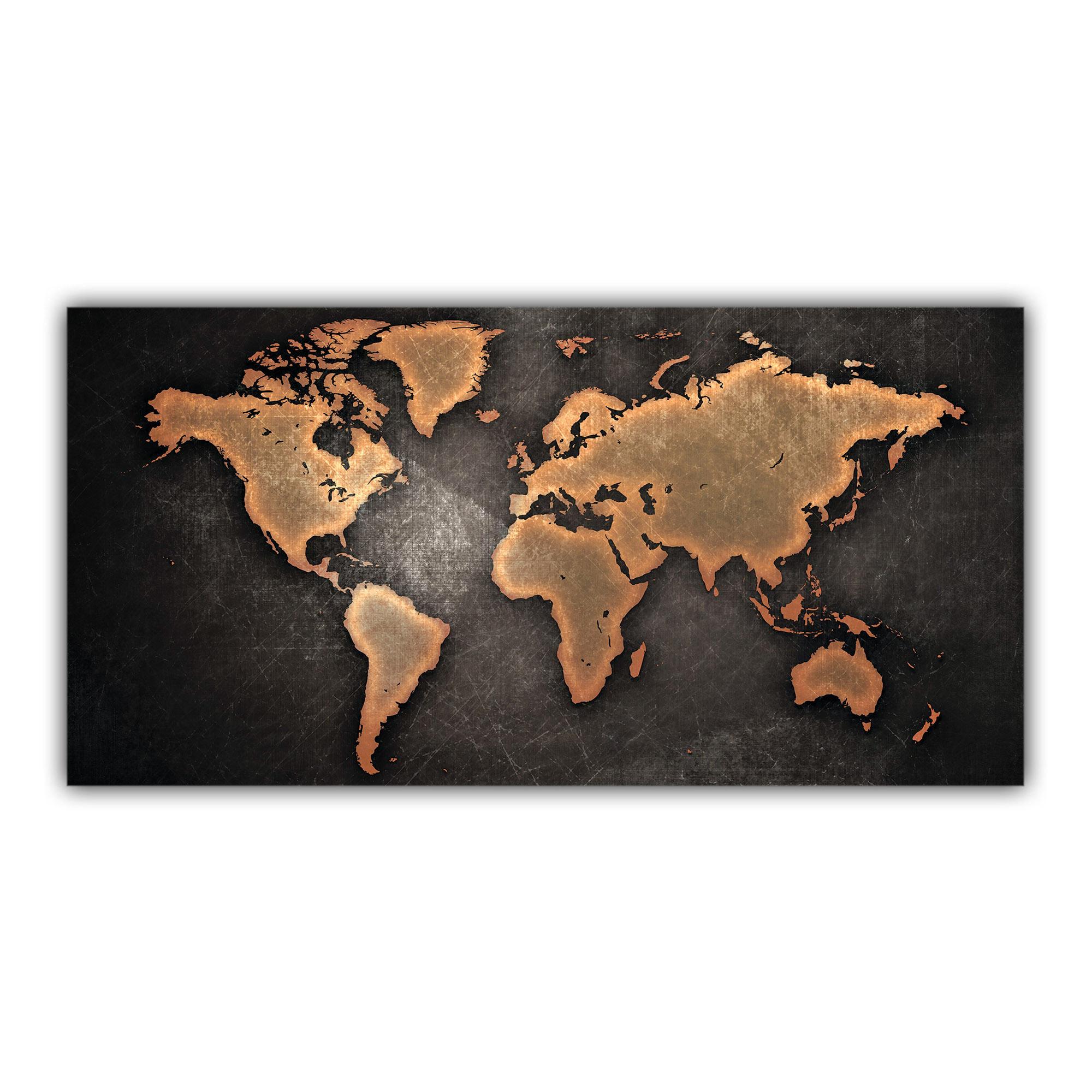 Carte du Monde Stylisée